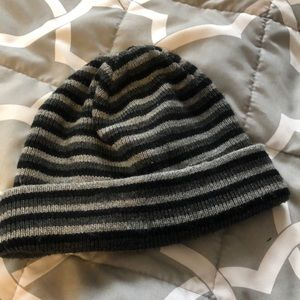 Stripped beanie from old navy